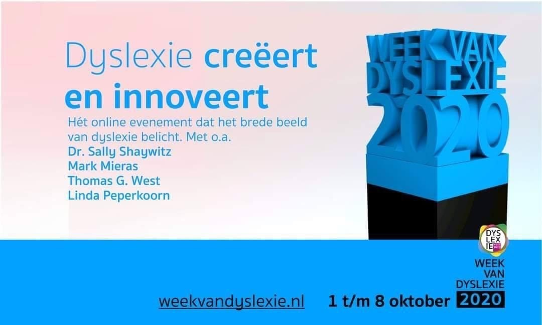 TIP: De HOI Foundation - Week van Dyslexie 1 t/m 8 oktober 2020